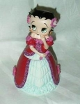 Click here to enlarge image and see more about item boopingown: Betty Boop Tall Porcelain Box