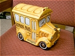 Click here to enlarge image and see more about item bus: School Bus Cookie Jar very cute
