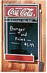 Click here to enlarge image and see more about item chalkboard: Coca Cola Coke Chalkboard