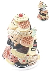 Click here to enlarge image and see more about item cookiescookiejar: Stack of Cookies Cookie Jar