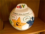 Click here to enlarge image and see more about item ebay: Ebay Cookie Jar... You are a Star