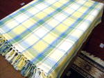 Click here to enlarge image and see more about item fiestacolors: Fiesta Colored Fringed Tablecloth