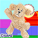 Click here to enlarge image and see more about item goldenretriever: Ganz Webkinz Golden Retriever Unopened Tag