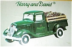 Click here to enlarge image and see more about item greenapples: Harry and David Green Truck Cookie Jar