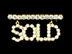 Click here to enlarge image and see more about item hangingsold: Rhinestone SOLD  hanging rhinestone bar