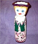 Click here to enlarge image and see more about item hilary: Ganz Bella Casa Hilary Hillary Vase