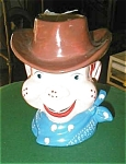 Click here to enlarge image and see more about item howdydoodyhead: Howdy Doody Head Vase