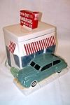 Click here to enlarge image and see more about item innoutcookiejar: In N And Out Hamburger Burger Cookie Jar MIB