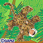Click here to enlarge image and see more about item leopard: Ganz Webkinz Leopard New Unopened Tag