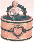 Click here to enlarge image and see more about item lucygrapecookiejar: I Love Lucy Grape Stomping Cookie Jar Vandor