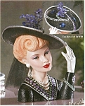 Click here to enlarge image and see more about item lv110: Cameo Girl Headvase Blythe 1942 Bedazzled