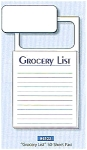 Click here to enlarge image and see more about item memopadgrocerylist: Magnetic Things to Do or  Grocery Lists