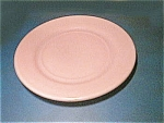 Click here to enlarge image and see more about item moderntoneplate: Moderntone Little Hostess Pink Plate