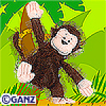 Click here to enlarge image and see more about item cheekymonkey: Ganz Webkinz Cheeky Monkey  Unopened Tag