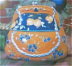 Purse Ornate Cookie Jar