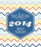 2014 Prints & Patterns Magnetic Calendars