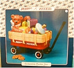 Click here to enlarge image and see more about item radioflyer: Radio Flyer Wagon with Bear Cookie Jar NIB