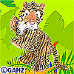 Click here to enlarge image and see more about item tiger: Ganz Webkinz Tiger New Unopened Tag