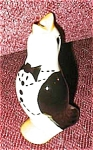 Click here to enlarge image and see more about item tuxedopiebird: Tuxedo Pie Bird