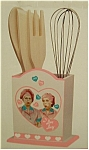 Click here to enlarge image and see more about item utensil: I Love Lucy Kitchen Utensil Set