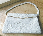 Click here to enlarge image and see more about item vivantsarne: Vintage Sarne Vivant Italian Beaded Purse