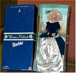 Click here to enlarge image and see more about item wintervelvet: Barbie Avon Winter Velvet