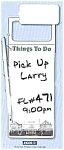 Click here to enlarge image and see more about item wipeoffthingstodo: 300 Memo Wipe Off - Things To Do Magnetic