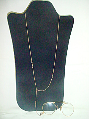 Folding Glasses, Lorgnette GF and Chain (Image1)