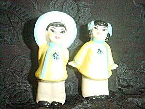 Asian Children Salt & Pepper Ceramic Arts (Image1)