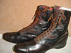 Vintage Children's High Top/Lace Up Shoes (Image1)