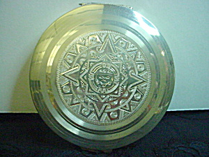 Vintage Sterling Silver Mexico Compact