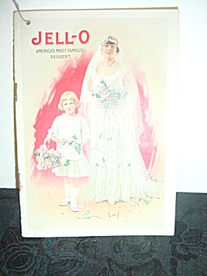 Vintage Jell-o Cookbook Pamphlet 1916 Bride