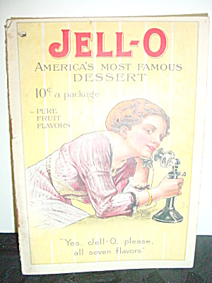 Vintage Jell-o Cookbook Rose O'Neill Illus. (Image1)