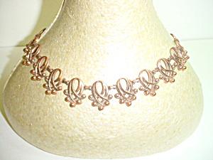 Vintage Renoir Open Link Copper Necklace (Image1)