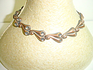 Vintage Copper Link Necklace Unmarked but Fab (Image1)