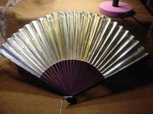Victorian Gold Fan (Image1)