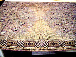 Amazing Arts & Crafts Peacock Table Runner (Image1)