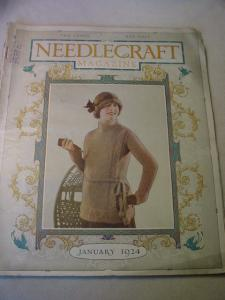 1924 January Needlecraft Magazine (Image1)