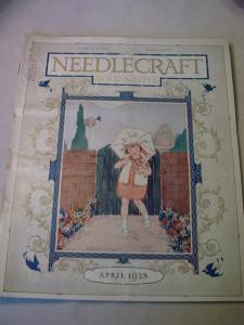 1925 April Needlecraft Magazine (Image1)