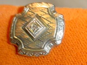 10k Edwardian Cufflinks (Image1)