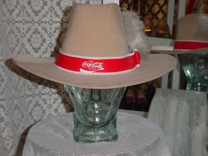 Western hat with Coca Cola logo (Image1)