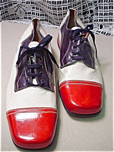 Vintage Carlo Leoni Red,White & Blue  Shoes (Image1)