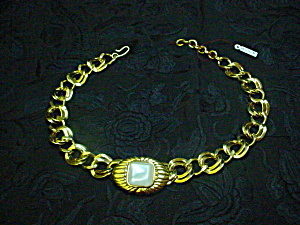 Monet Necklace/Choker Sophisticated 80's Look (Image1)