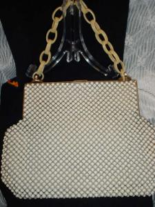 Aluma Mesh And Celuloid Purse
