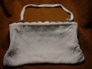 Walborg White Beaded Handbag (Image1)