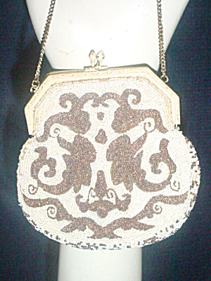 Early 1900's French Beaded Bag/Purse (Image1)