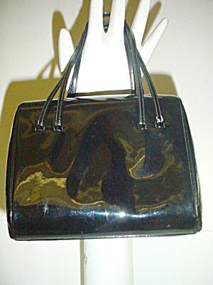Vintage Judith Leiber Patent Leather Handbag (Image1)