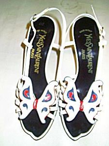 C1970's YSL Yves Saint Laurent  Sandals (Image1)