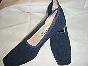 Vintage Pancaldi Navy Shoes (Image1)
