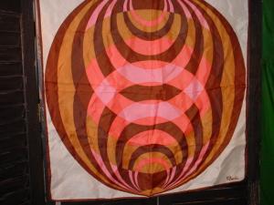 Paoli 60's Circular design Scarf (Image1)